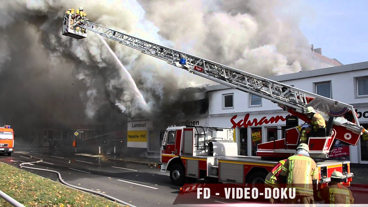 Berliner Feuerwehr Feuer Reinickendorf Kögelstrasse 17102012
