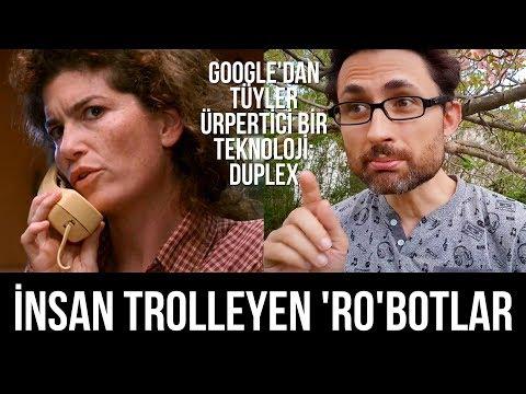 İnsan trolleyen 'ro'botlara doğru... Google'dan tüyler ürpertici bir teknoloji
