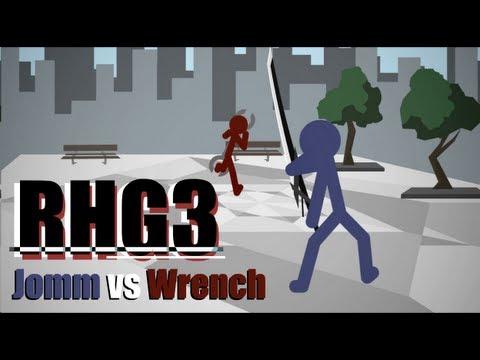 RHG battle 3: Jomm vs Wrench