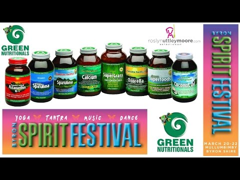 Byron Spirit Festival - Microrganics Green Nutritionals