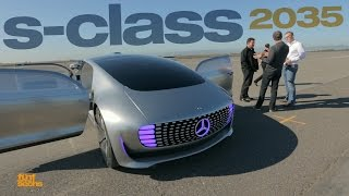 Autonomous Driving with the Mercedes F015 Research Vehicle (German & partially English) thumbnail