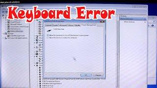 Cara Mengatasi Keyboard Tidak Terdeteksi