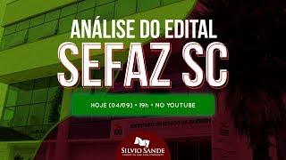 [ANÁLISE DO EDITAL] CONCURSO SEFAZ SC
