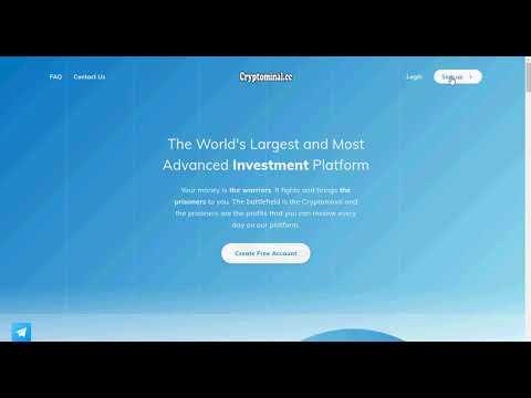 видео обзор hyip проекта Cryptominal Platform