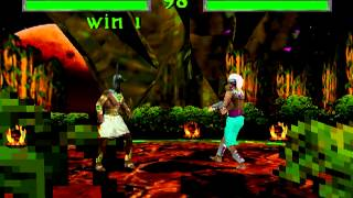 Lets play War Gods N64 Part 4 HARD GAME