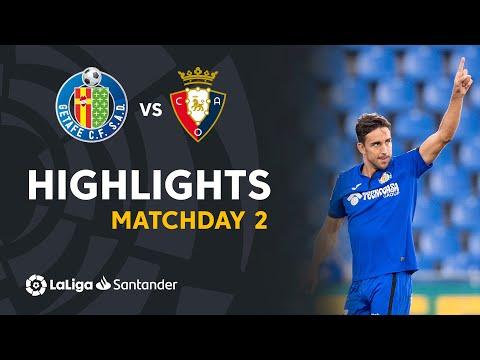 Getafe Osasuna Goals And Highlights