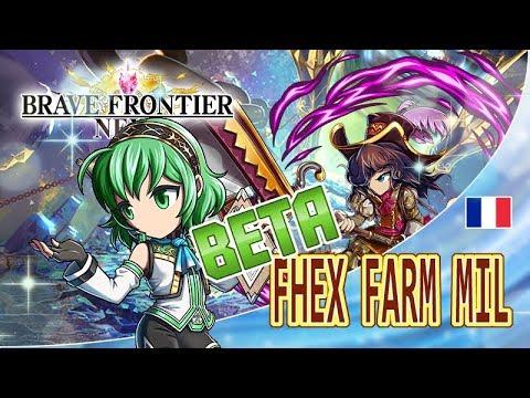 FRONTIER HUNTER EX  BETA MIL FARM !! Brave Frontier RPG Revolution