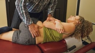 Chiropractic Adjustment for Back Pain, Health Tip & Hip Adjustment Demonstration, Austin Chiro