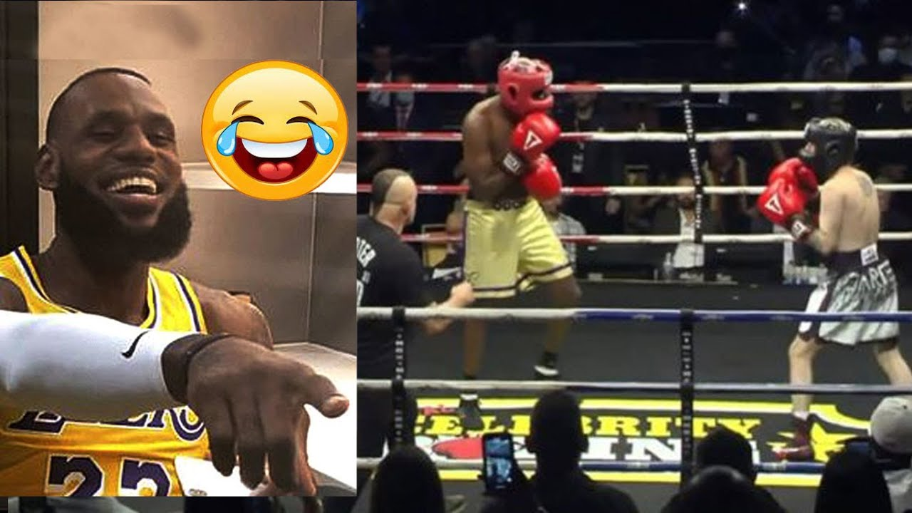 Lamar Odom absolutely destroyed Aaron Carter in celebrity boxing ...