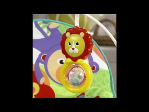 Fisher-Price Infant-to-Toddler Rocker - Green - Smyths Toys