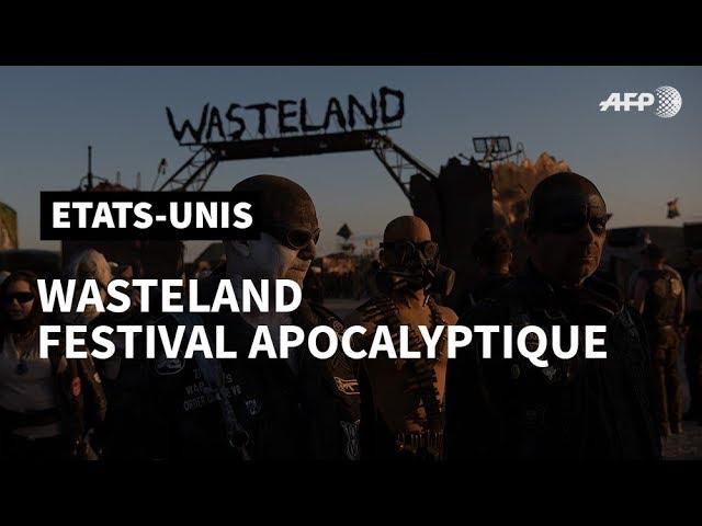 Aux Etats-Unis, Wasteland le festival apocalyptique | AFP Photo