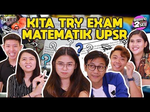 Kita Try Exam Matematik UPSR | Barang For U 2 See