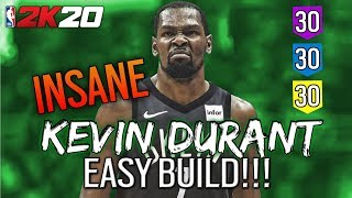 NBA 2K20 Kevin Durant Build - MyPLAYER Builder - KD
