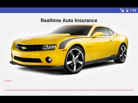 Realtime Car Insurance Demo