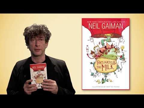 Neil Gaiman's FORTUNATELY, THE MILK | Book Trailer | Something Odd Happened...