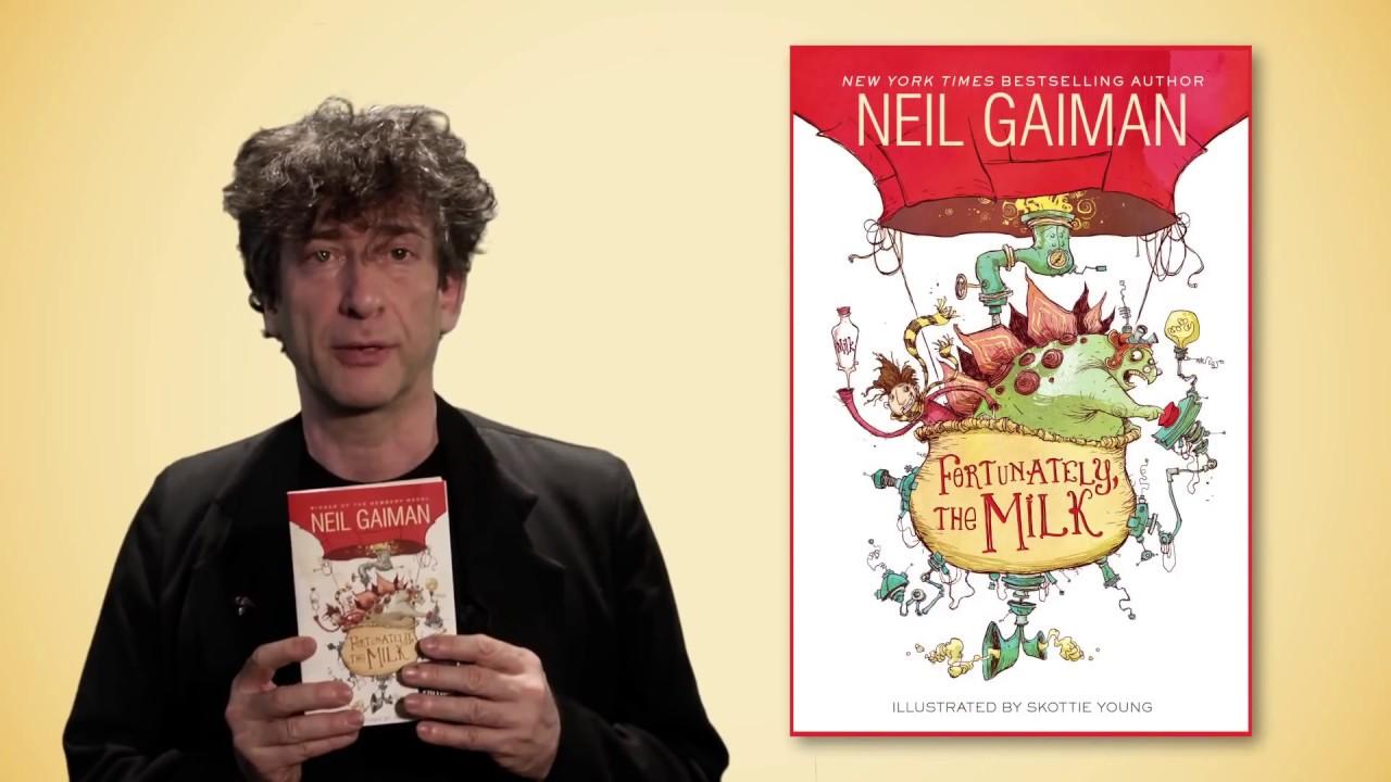 Neil Gaiman's FORTUNATELY, THE MILK | Book Trailer | Something Odd ...
