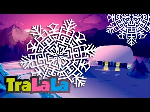Dansul fulgilor de nea - Cântece de iarnă pentru copii   TraLaLa