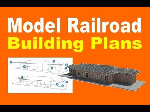 60 Easy To Make Model Railroad Buildings