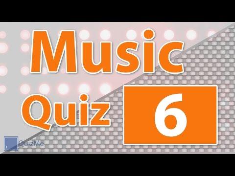 Music Quiz | Number 6 | QuizMe