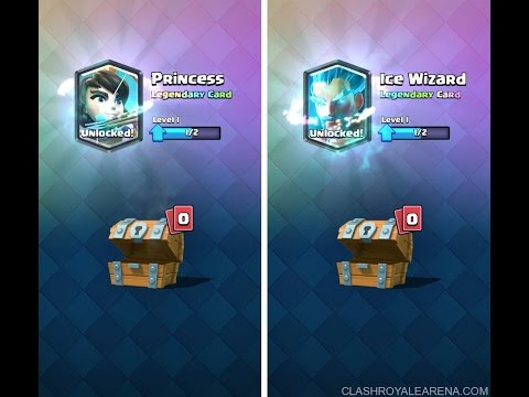 CLASH ROYALE - GLITCH NEW ALGORITHM HOW TO UNLOCK LEGENDARY CARDS FROM CROWN CHEST!!