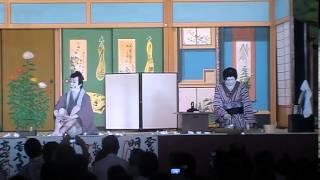 平成24年気良歌舞伎 与話情浮名横櫛源氏店 切られ与三 KERA-KABUKI yowa nasake ukina no yokogushi