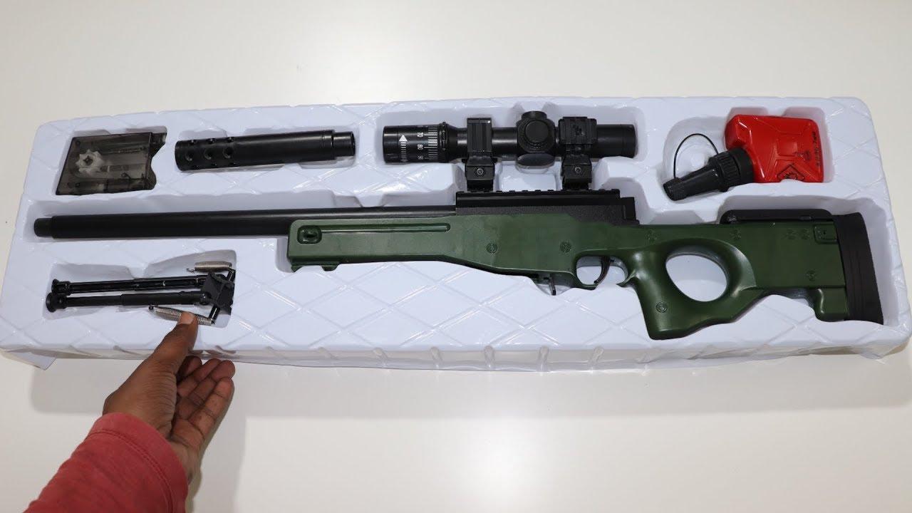 Download PUBG AWM Toy Gun – Freefire AWM Toy Gun Unboxing & Testing – Chatpat toy tv