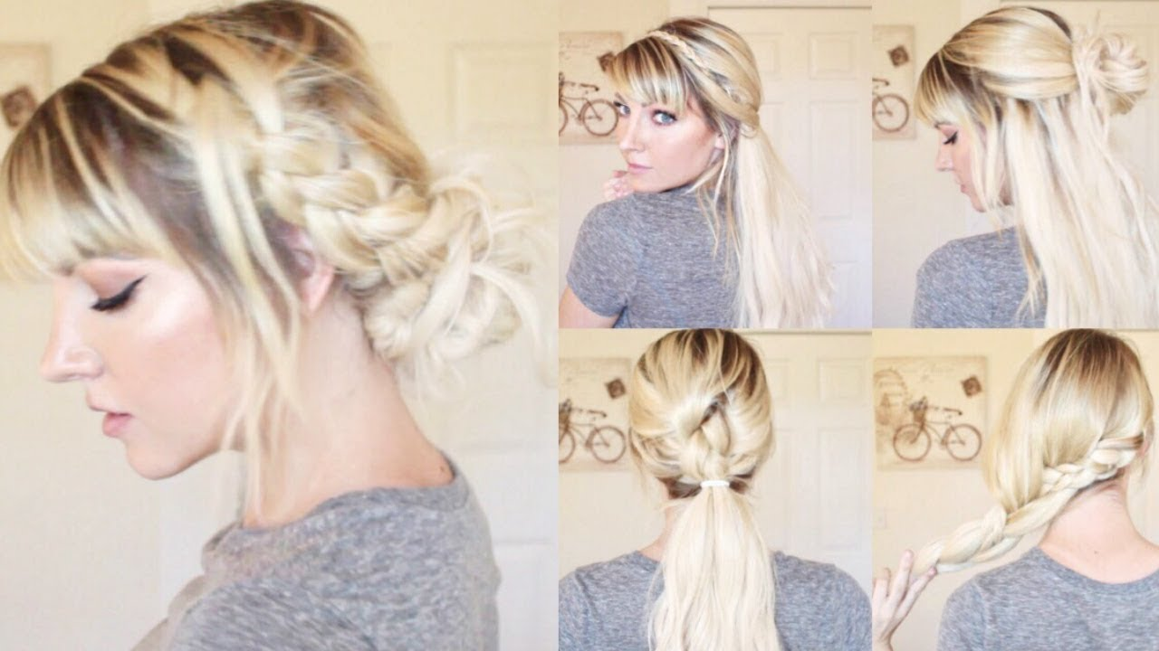 cute hairstyles for school/work! (ft. zala hair extensions)
