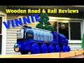 2016 VINNIE Thomas Wooden Railway Unboxing Review (WR&RR) The Great Race!