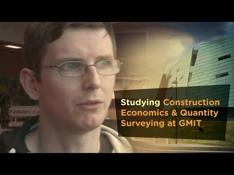 Studying Construction Economics & Quantity Surveying at GMIT