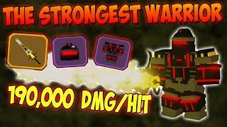 *THE STRONGEST WARRIOR* LOADOUT IN THE GAME!!! -⚔️ Roblox Dungeon Quest