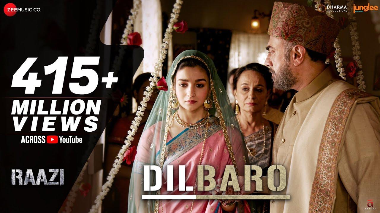 Dilbaro | Raazi | Alia Bhatt | Harshdeep Kaur, Vibha Saraf & Shankar Mahadevan | Shankar Ehsaan Loy #1