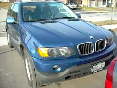 2003 BMW X5  SUV Sport 4X4 walkaround