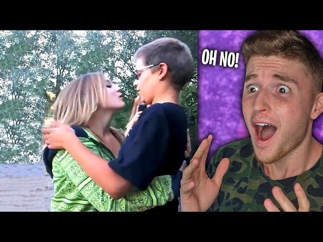 Kid Gets REJECTED By Crush.. (CRIES)