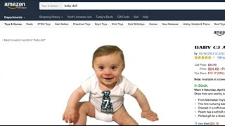 WE BOUGHT A BABY BOY ON AMAZON!! UNBOXING VIDEO