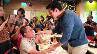 WATCH: How sweet! Xian Lim makes peace with entertainment writer