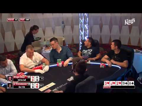 CASH KINGS E17 2/2 - EN - NLH 5/10 ante 5 - Live cash game poker show