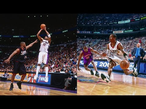 Allen Iverson vs Vince Carter EPIC Duel | 2001 Eastern Conference Semifinals
