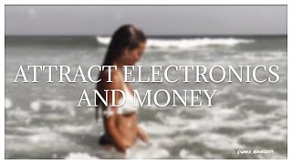 attract electronics & money ∗ affs.