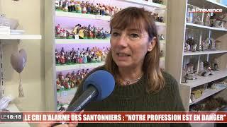 """Le 18:18 - Coronavirus : """"Notre profession est en danger"""" s'inquiètent les santonniers"""
