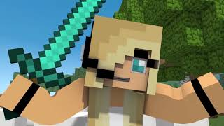 New PsychoGirl 16 Minecraft Song! Best Minecraft Animations (Top Minecraft Songs )