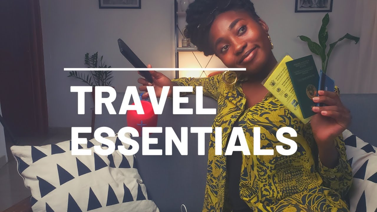 Travel essentials by Enyo Bruku