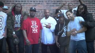 "Lazarus and D12 Behind the Scenes of ""Lay the Law Down"" Music Video"