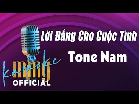 Lời Đắng Cho Cuộc Tình (Karaoke Tone Nam) | Hát với MMG Band