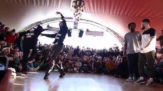 Juste Debout Paris 2016 | Hip Hop | Waydi & Rochka vs Ben & Ukay | Top 32