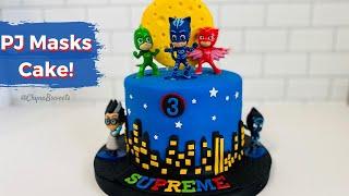 PJ Masks Birthday Cake!