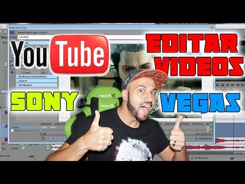 Como EDITAR un video para YOUTUBE 1080p | Sony Vegas 13 | 2016 | Cen's Play