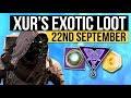 Destiny 2   XUR LOCATION & EXOTIC LOOT! - Xur