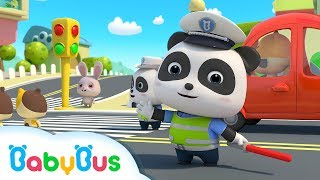 Traffic Police Officer | Nursery Rhymes | Kids Songs | Kids Cartoon | Pretend Play | BabyBus