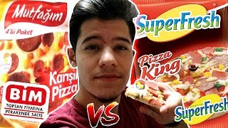 BIM PIZZA VS SUPERFRESH PIZZA !