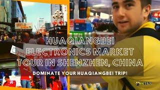 HuaQiangBei Electronics Market Tour in Shenzhen, China